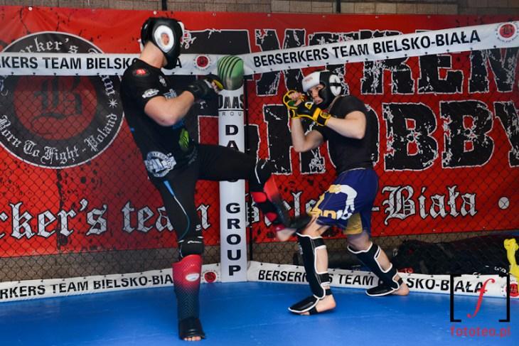 Trening MMA Marcina Helda z Berserkers Bielsko-Biała