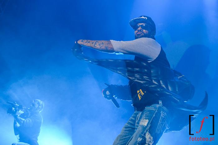 Koncert rap: Redman. Fotograf Bielsko-Biała