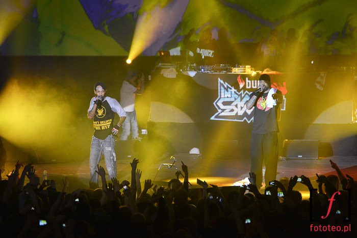 Redman and Methodman concert in Poland
