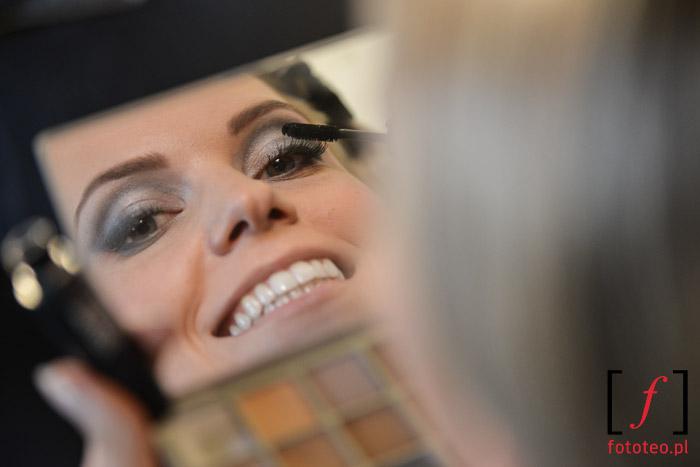 Joanna Sendecka before Mrs. World Poland 2014 contest