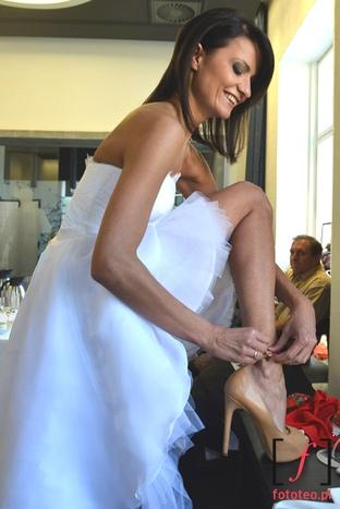 Fotograf ślubny, przygotowania przed pokazem