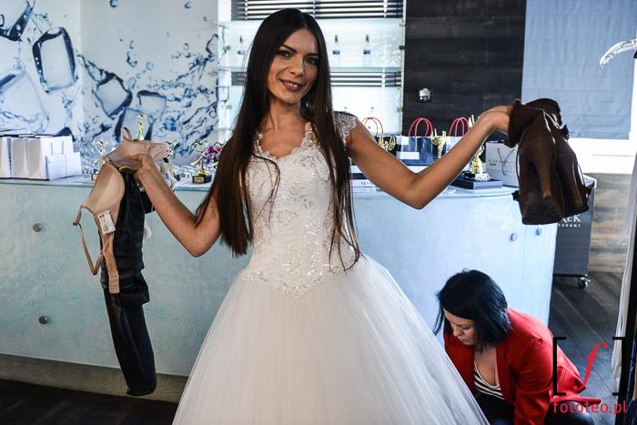 Pokaz sukien ślubnych- przygotowania