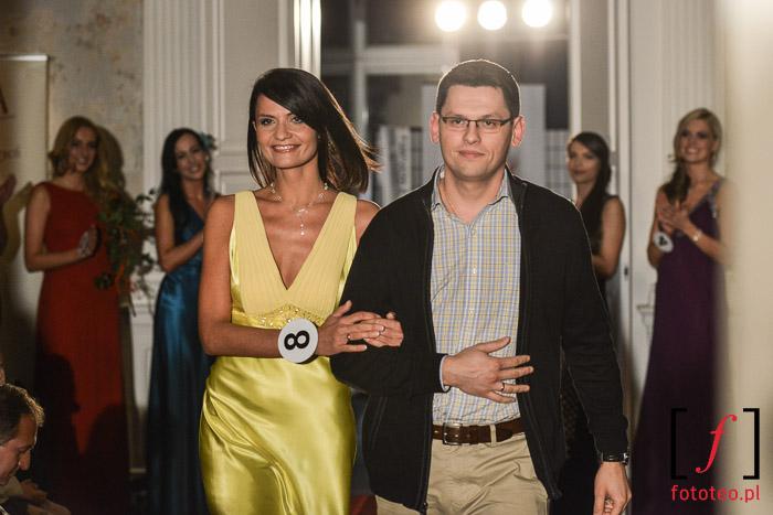 Finalistka Mrs. Poland 2014 Anna Kądzielnik wraz z mężem