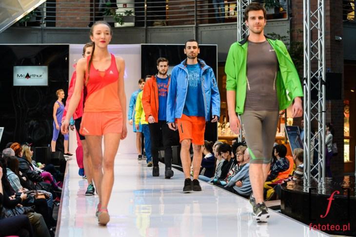 Pokaz odzieży sportowej Bielsko-Biała