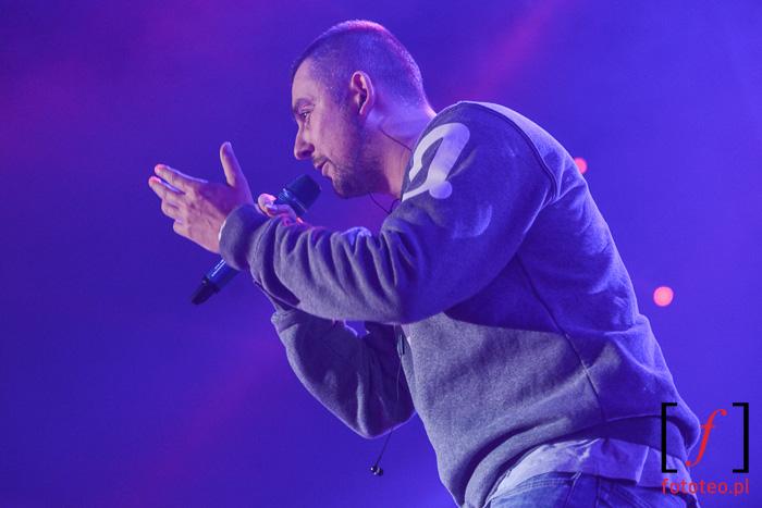 Burn in Snow 2014: Sokół, polski hip-hop