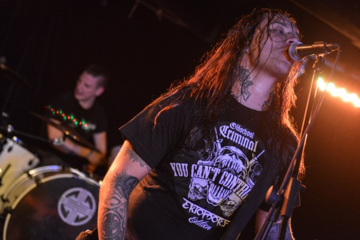 Ektomorf vocalist