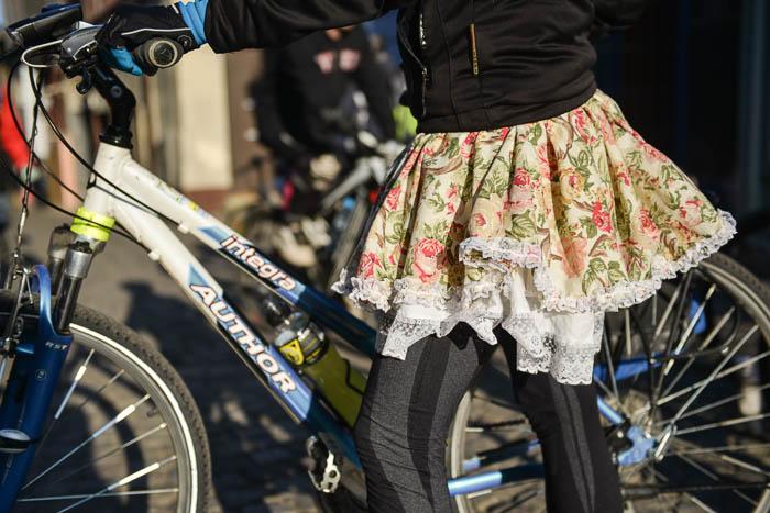AlleyCat w Bielsku-Białej z okazji dnia kobiet.