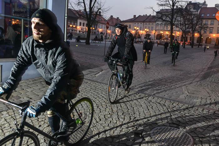 Fotograf Bielsko: rowerowy rajd AlleyCat