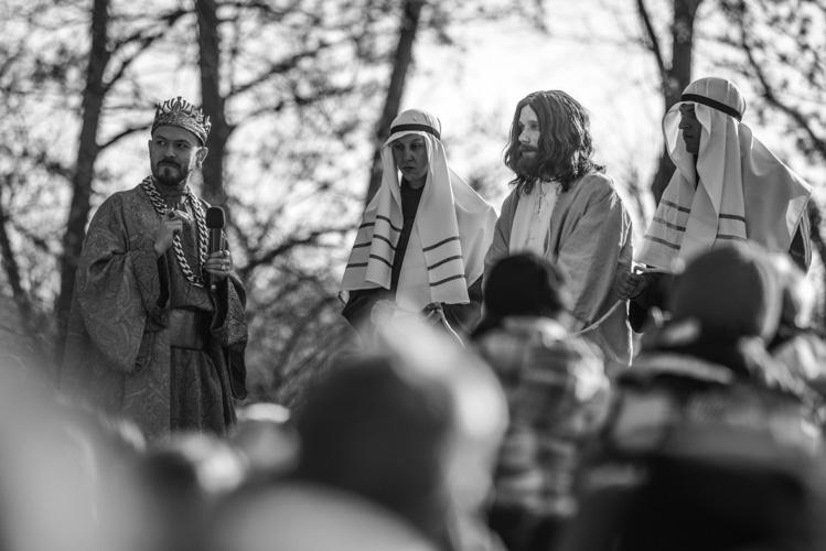 Herod sądzący Jezusa
