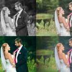 Obróbka graficzna fotografii ślubnych