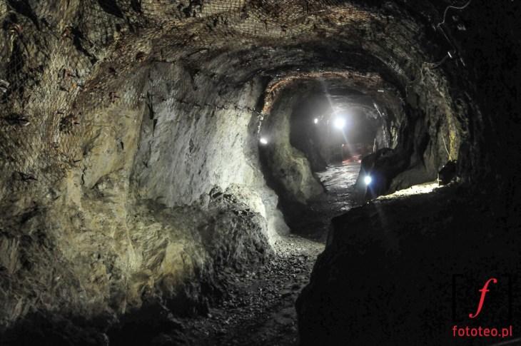 Podziemne miasto Osowka korytarze