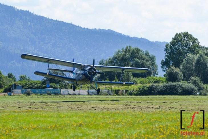 Start samolot An-2 Antonow Antek