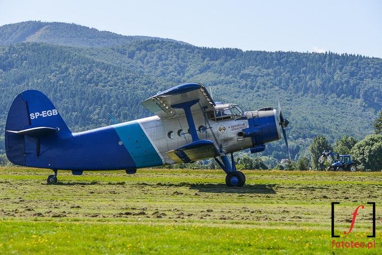 An-2 Antonow Antek samolot