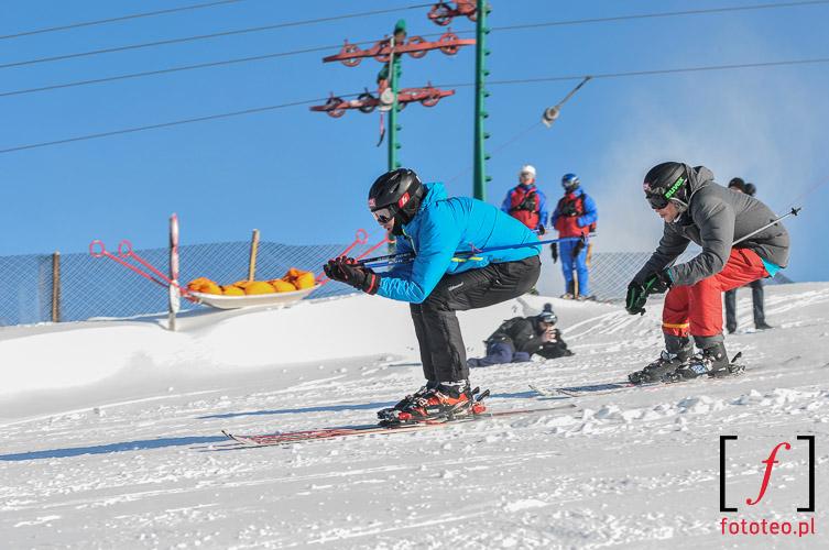 Wyscig narciarstwo ekstremalne