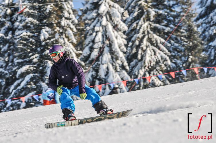 Snowboard w Szczyrku