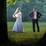 Magda iKarol: ślub wBielsku-Białej, plener foto wPszczynie