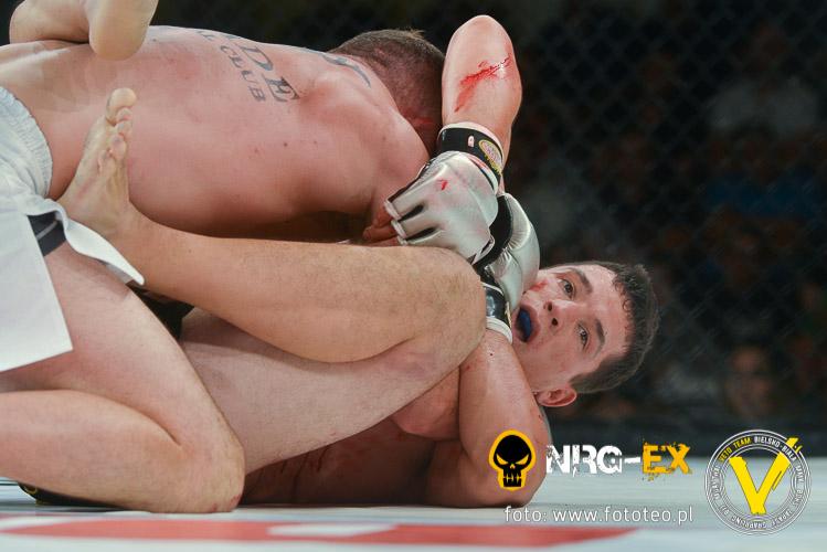 Walka MMA: Nikos Sokolis pok. Antoni Chmielewski
