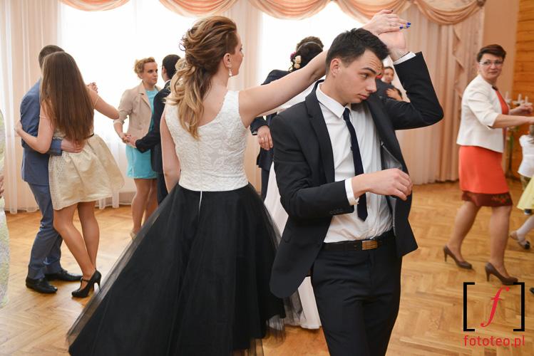 Huczna zabawa weselna w gorach