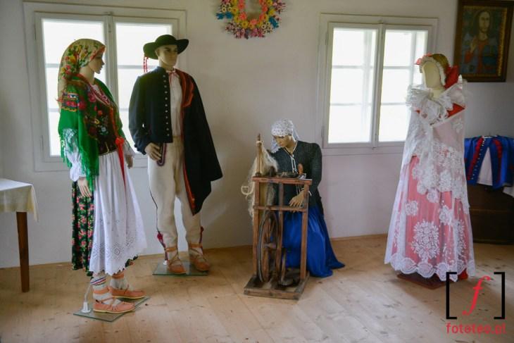 Fotograf Ślemień, tradycyjny góralski ubiór