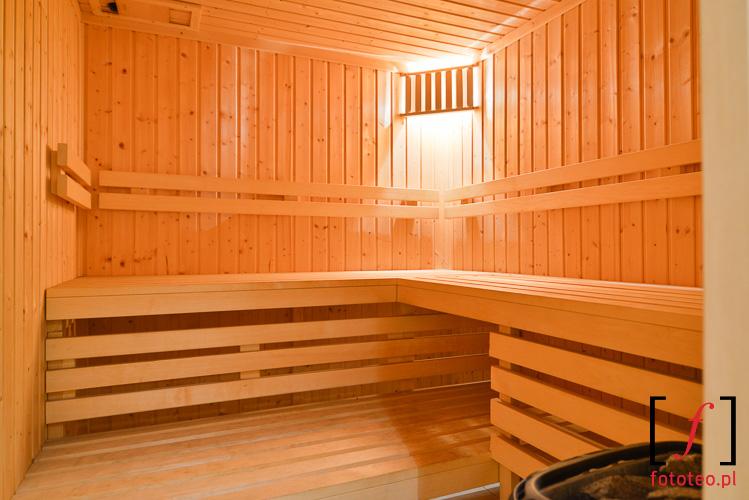 Sauna domowa fotografia