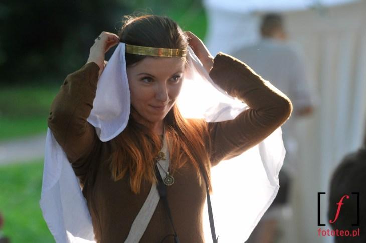 Średniowieczna dama dworu