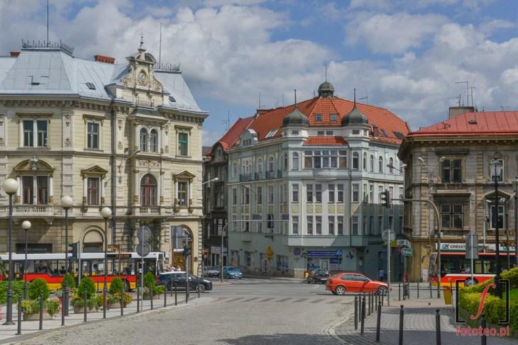 Kamienice w Bielsku.