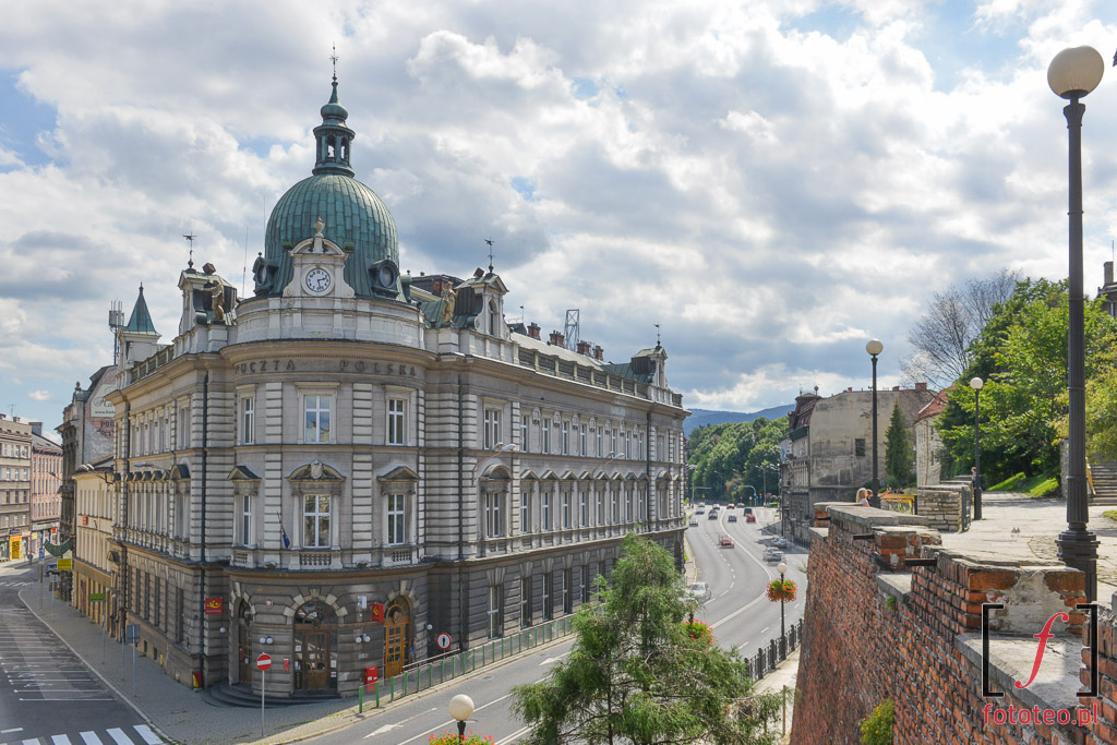 Fotograf Bielsko Biala: Poczta imury zamku