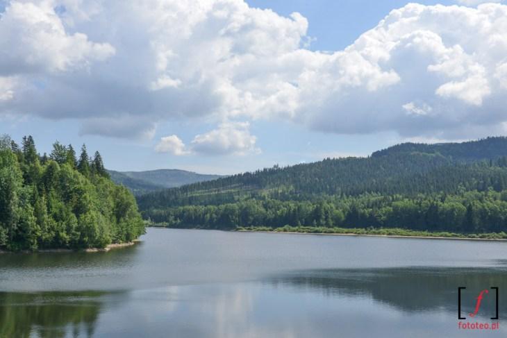 Zapora i Jezioro Czerniańskie - Wisła Czarne