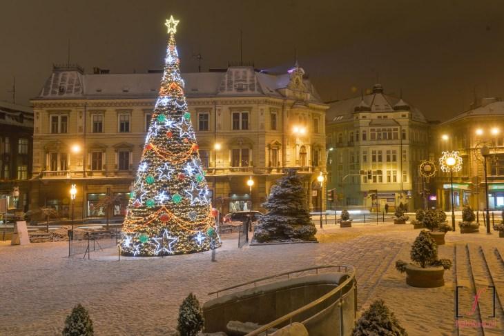 plac Chrobrego wśniegu, Bielsko-Biała