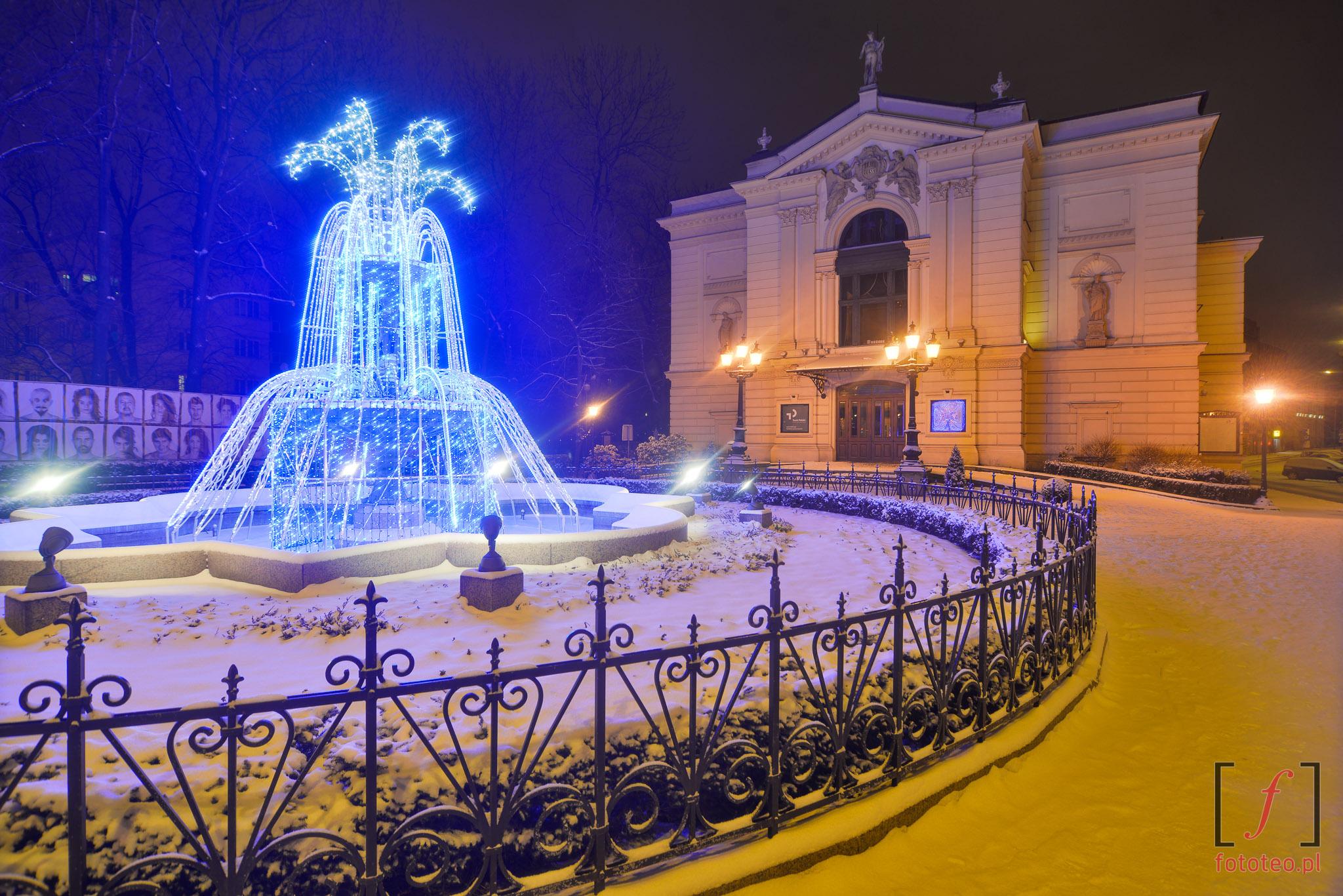 Bielsko-Biala fotografia zima