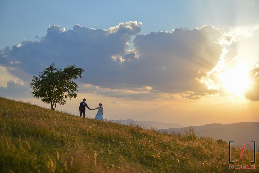 Sesja ślubna Beskidy Koniaków