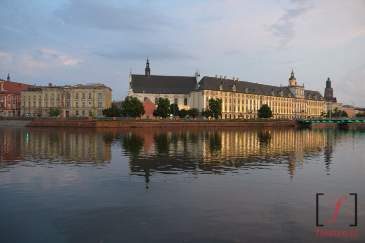 Wrocław Odra Uniwersytet fotografia