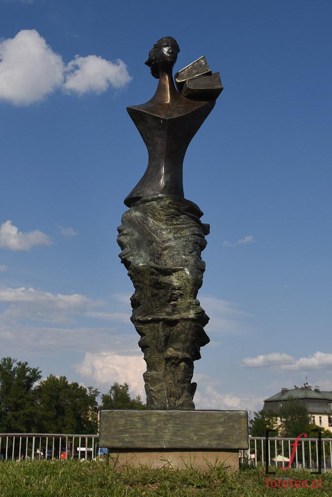 Pomnik Powodzianka Wrocław fotografia