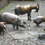 Wrocław: fotografia miasta. Część 5: pomniki, rzeźby i krasnale