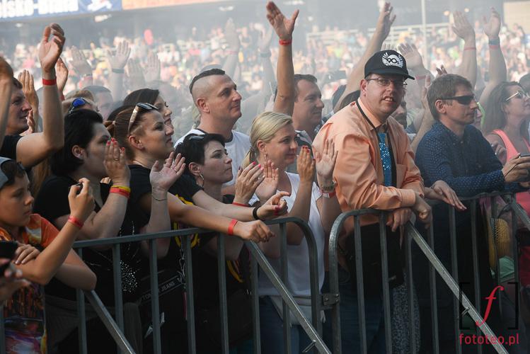 Widownia podczas koncertu