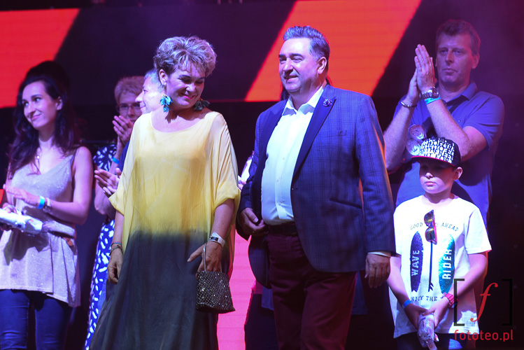 Właściciciele Radia Bielsko: Wiesława i Jerzy Handzlik