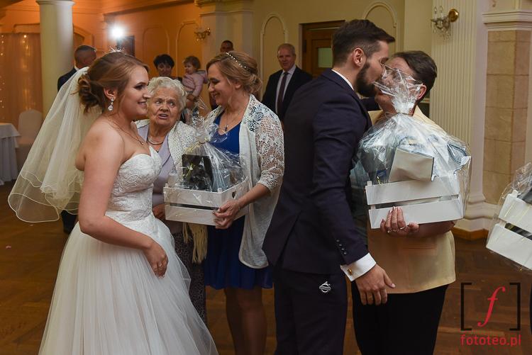 Podziekowania na weselu
