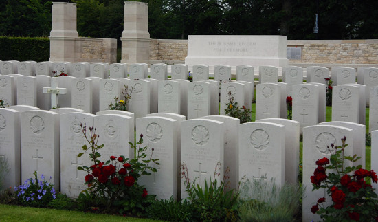 Canadian Military cemetery - Dieppe, France