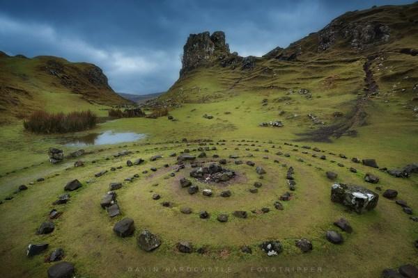 Isle of Skye Fairy Glen Scotland