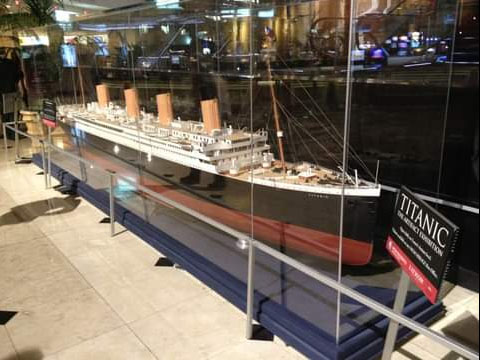 Expo Titanic en Luxor
