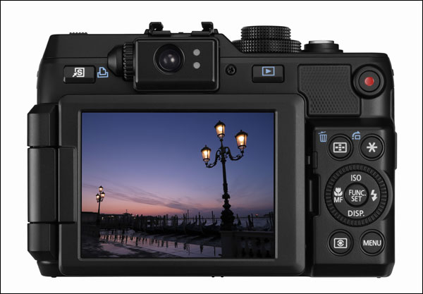 Canon G1 X Trasera