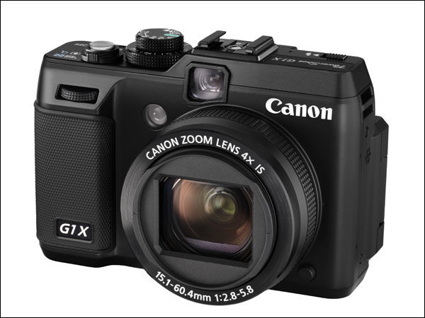 Canon G1 X Frontal