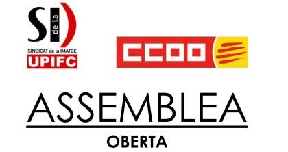 Logos Sindicat de la Imatge UPIFC y CCOO