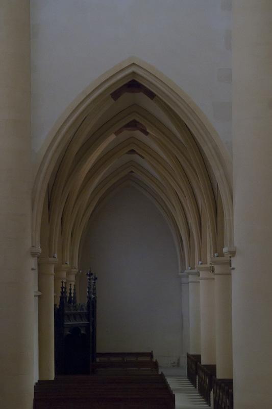 Interieur basiliek St. Maurice