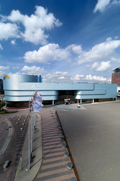 Holland Casino, vanaf parkeergarage Jaarbeurs