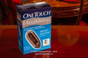 Johnson and Johnson OneTouch UltraMini Glucometer