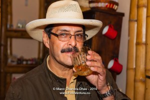 Colombian Gentleman with a Drink