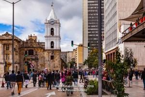 Bogota, Colombia - Carrera Septima on Veinte de Julio 2016