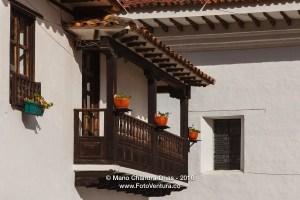 Villa de Leyva, Colombia - Colonial Architecture Balcony