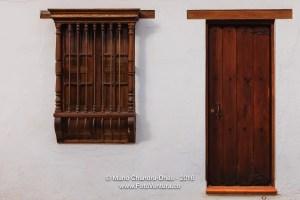 Villa de Leyva, Colombia - Colonial Architecture Door and Window